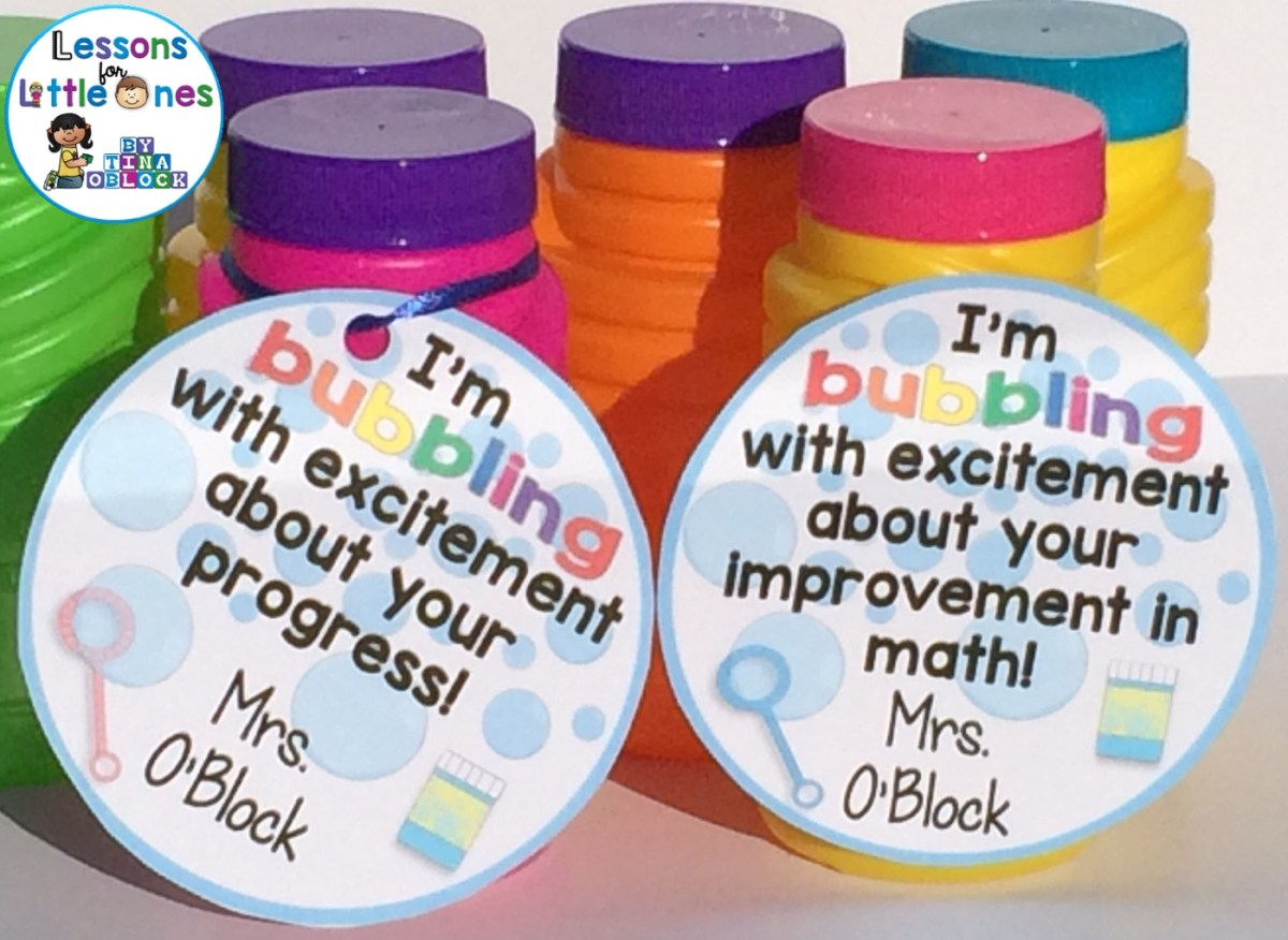 Student Gift Ideas & Gift Tags for Positive Reinforcement, Testing, Motivation